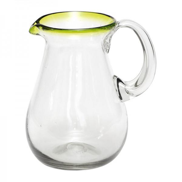 krug jarra verde glas mundgeblasenes glas zubereiten servieren k che bad globo fair. Black Bedroom Furniture Sets. Home Design Ideas