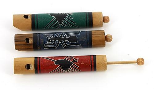 Vogelpfeife SILVADOR, Bambus/Holz