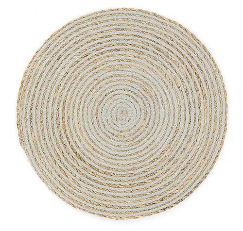 Tischset SPIRALE GRAU, Hogla/Baumwolle