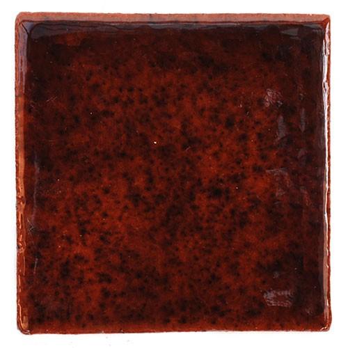 Fliese UNI DUNKELBRAUN 10 x 10, Keramik