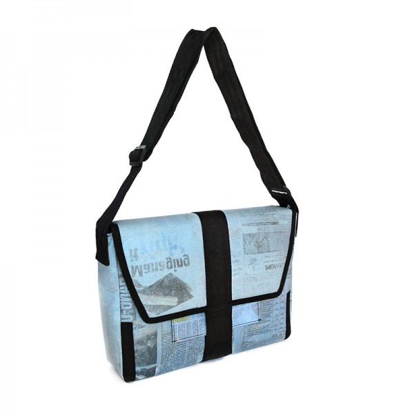 Collegebag NEWSPAPER, Recyclingmaterial