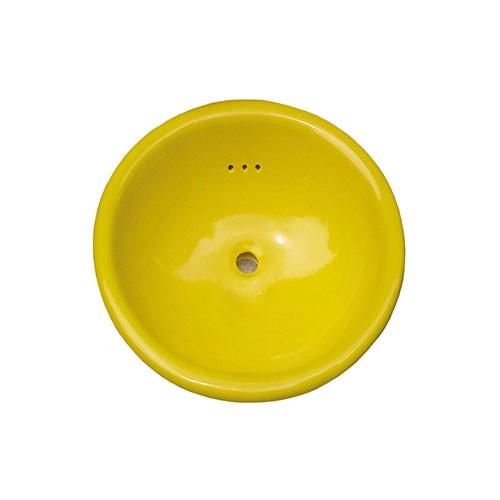 Waschbecken UNI ZITRONENGELB, Keramik