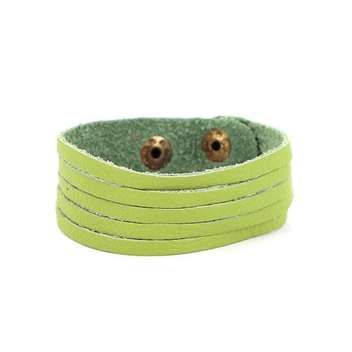Armband TIRA, Recycling-Leder