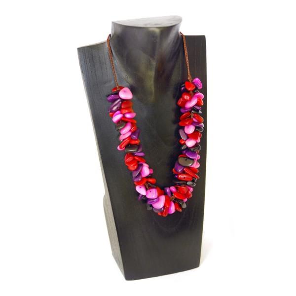 Halskette HEAP, Tagua-Nuss