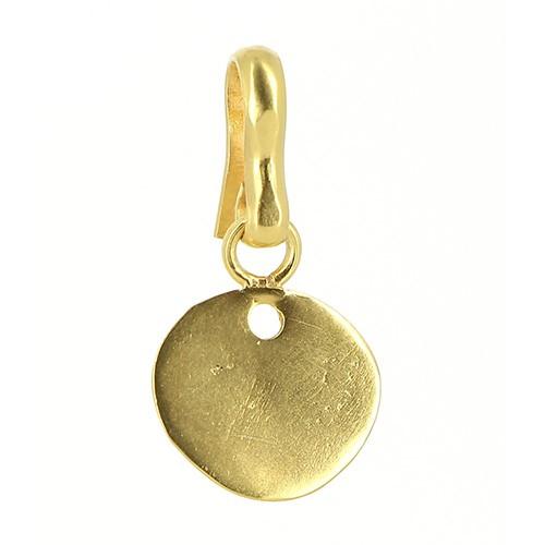 Anhänger CATORI, 925er Silber, vergoldet