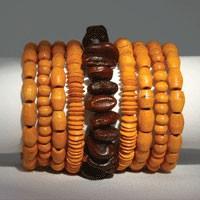 Armband SPIRALE, Holz