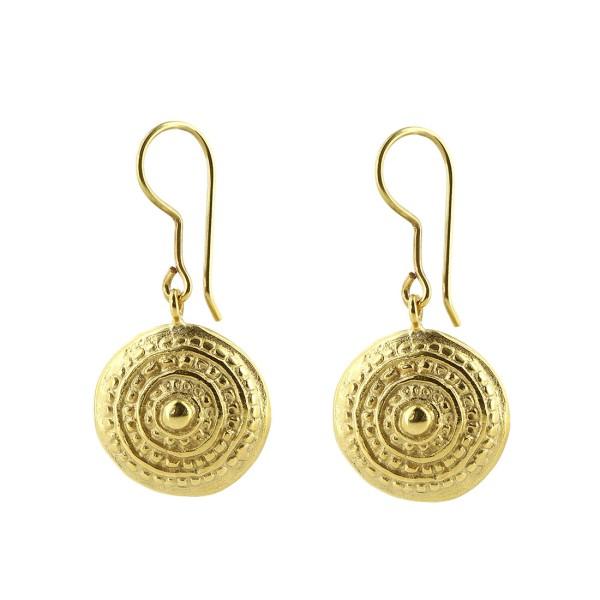 Ohrringe INOLA, 925er Silber, vergoldet