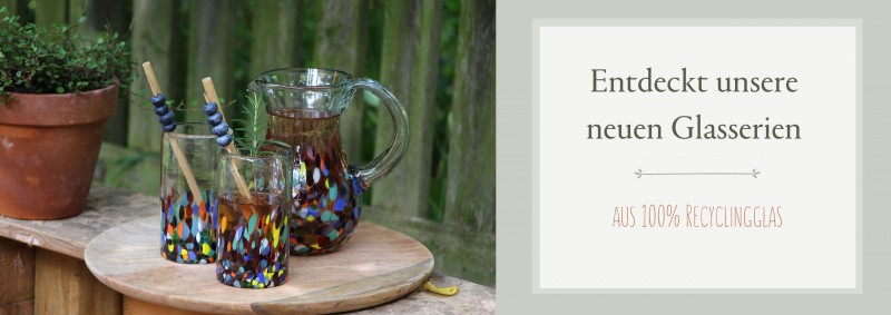 Neue Glasserien aus Mexiko