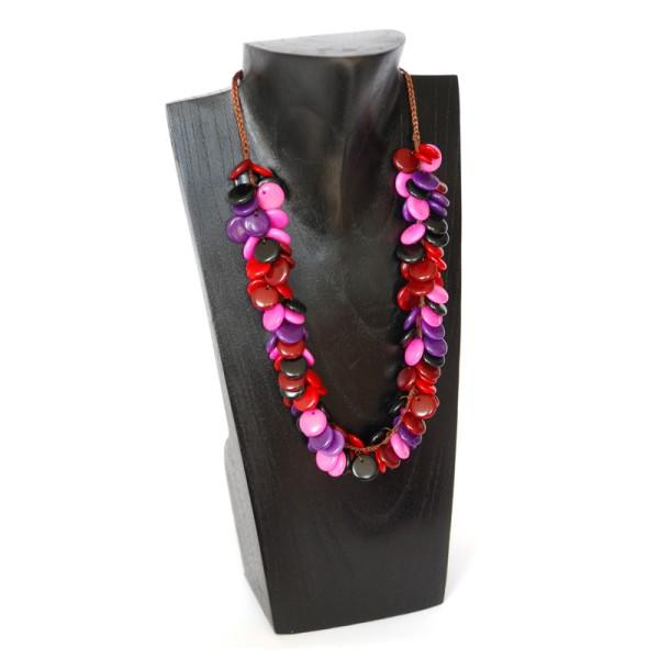 Halskette DROPPE, Tagua-Nuss