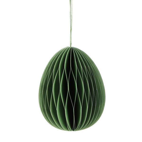 Deko EI GROSS, Papier 10cm, grün