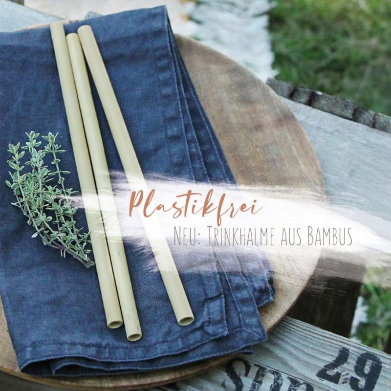 Trinkhalm Bambus