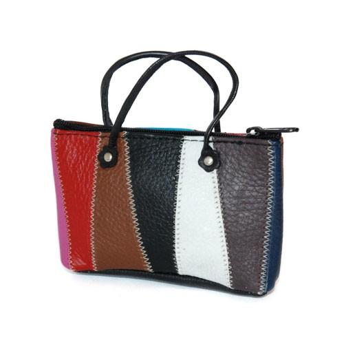 Mini-Tasche VIELZWECK, Recycling-Rindleder