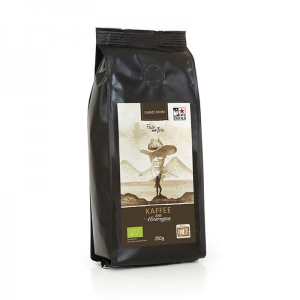 Bio-Kaffee CHAVALO, ganze Bohne
