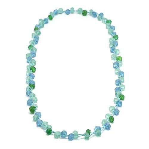 Halskette MORGENTAU, Recycling-Glas