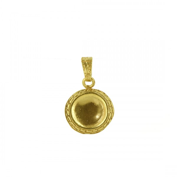 Anhänger TAINI, 925er Silber, vergoldet