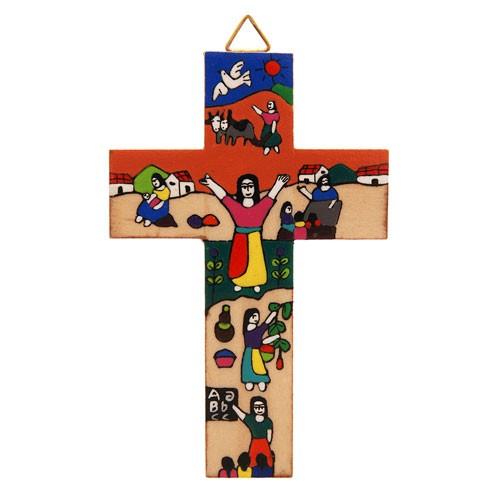 Kreuz BÄUERIN, Holz