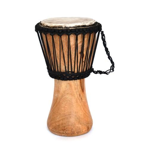 Trommel DJEMBE, Holz/Leder