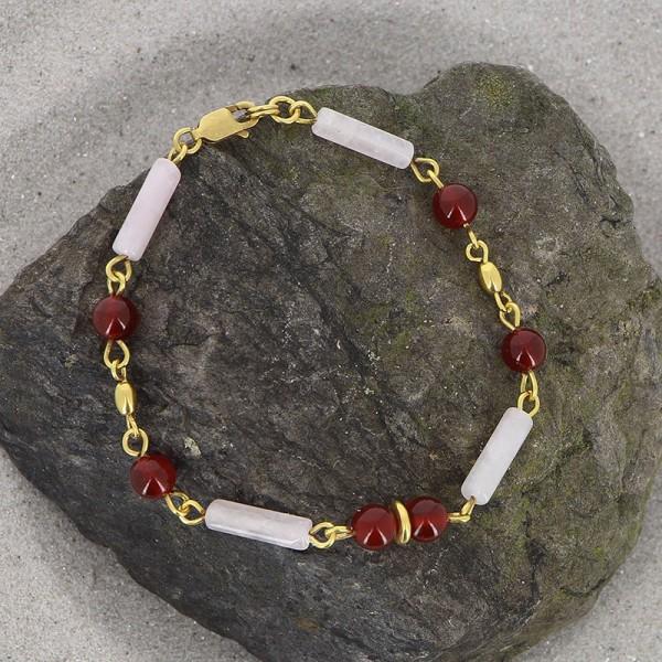 Armband ZALTANA, 925er Silber, vergoldet