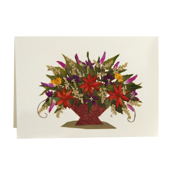 Mini-Grusskarte DAHLIA II, Wildblumen