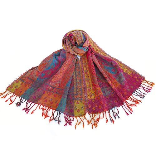 Schal DEKYI, Wolle