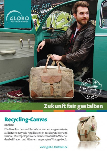 Plakat RECYCLING-CANVAS, DIN A1