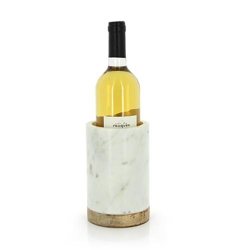 Weinkühler GIBUS, Marmor und Mangoholz