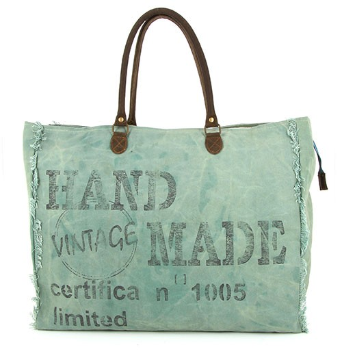 Weekender LAUNDRYBAG, Vintage Canvas