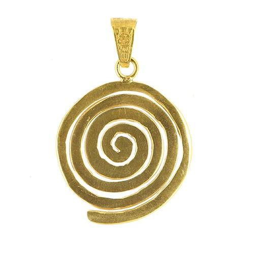 Anhänger AMITOLA, 925er Silber, vergoldet