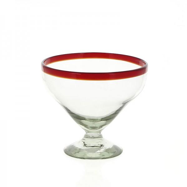 Schale DESSERT ROJO, Glas