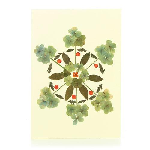 Grusskarte WALDLUFT, Wildblumen