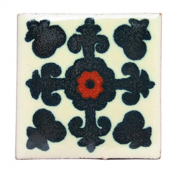 Fliese VALENCIA NEGRO 5 x 5, Keramik