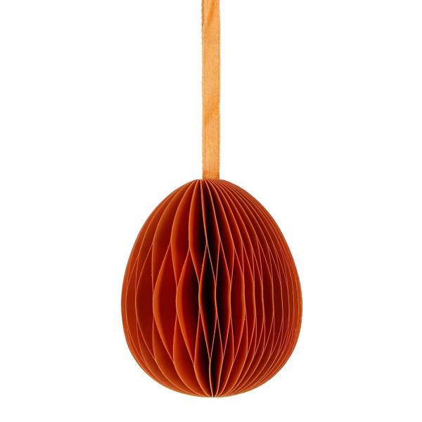 Deko EI KLEIN, Papier 7cm, orange