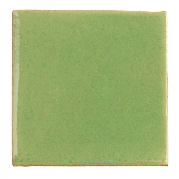 Fliese UNI ASCHEGRÜN 5 x 5, Keramik