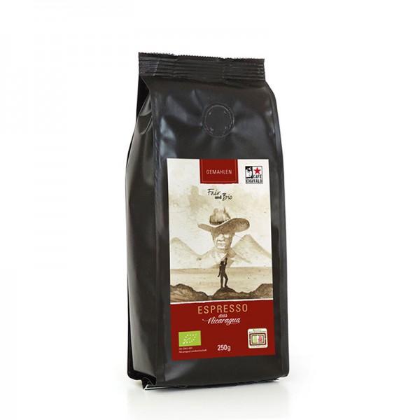 Bio-Espresso CHAVALO, gemahlen