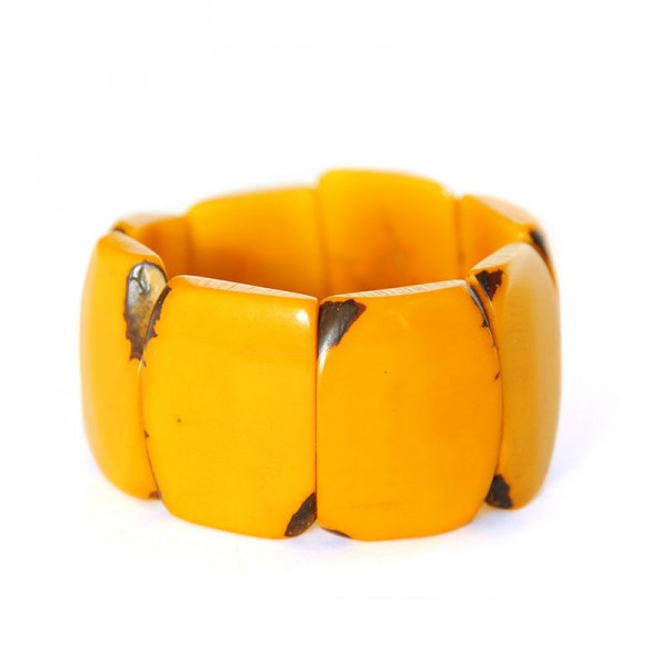 Armband TUTELA, Tagua-Nuss