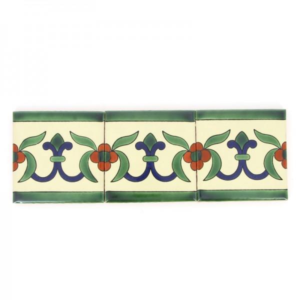 Fliese LILIA BLANCA SPEZIAL 10 x 10, Keramik