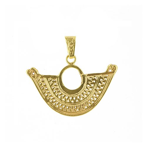Anhänger AIYANA, 925er Silber, vergoldet