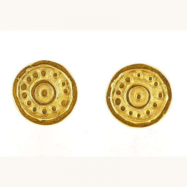 Ohrstecker TENYA, 925er Silber, vergoldet
