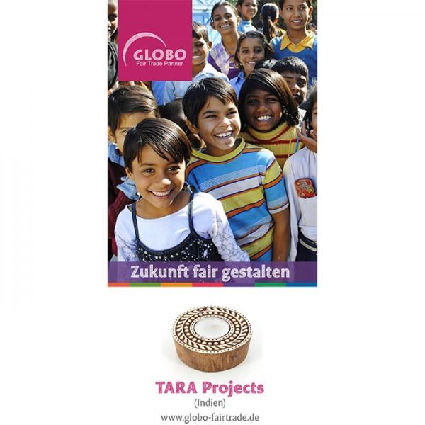 Faltblatt TARA PROJECTS, DIN lang