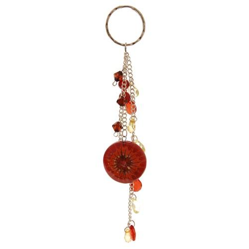 Schlüsselanhänger SABA, Glas