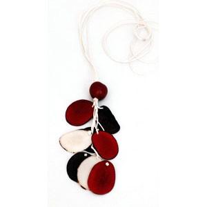 Halskette NATURE, Tagua-Nuss