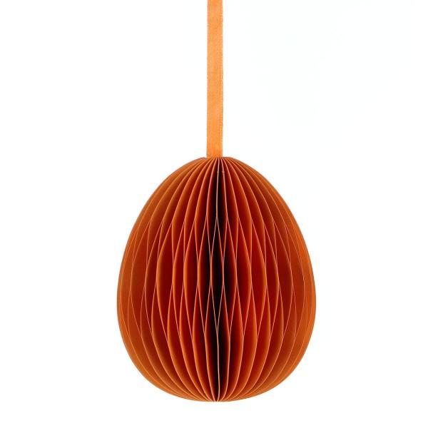 Deko EI GROSS, Papier 10cm, orange