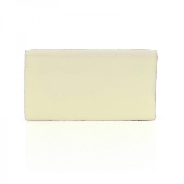 Abschlussfliese UNI MEXICAN WHITE, Keramik