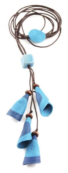Halskette FLÖTE, Baumwolle