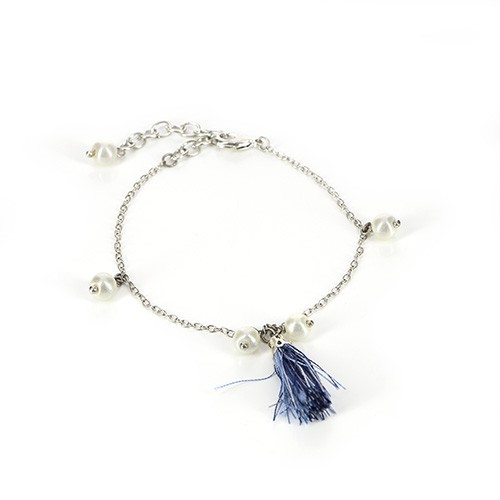 Armband DREAM, Messing/Polyester